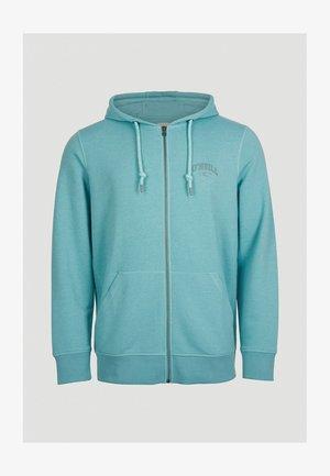 STATE  - Zip-up hoodie - aqua sea
