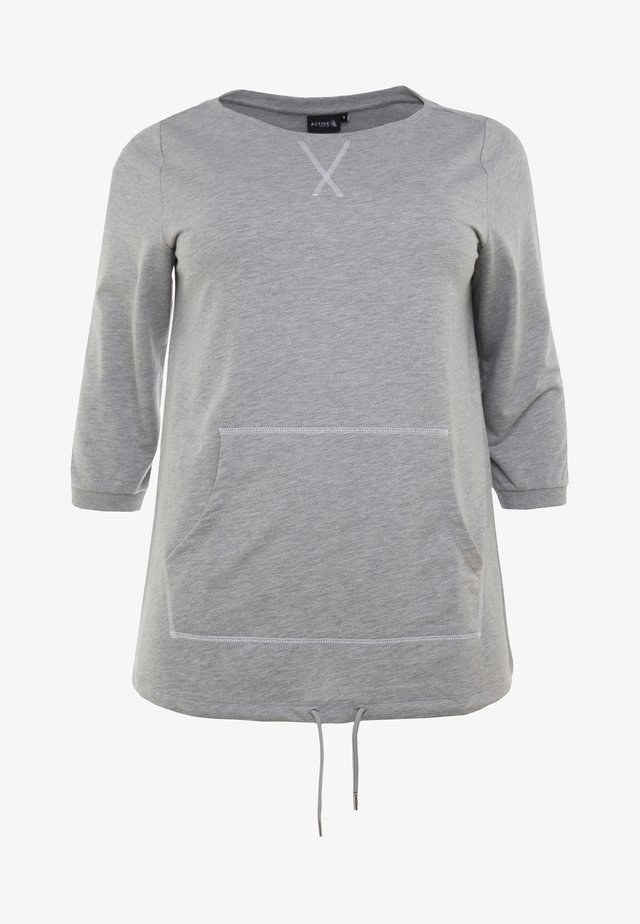 AWILLOW - Bluza - light grey melange