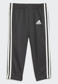 adidas Performance - 3 STRIPES TRICOT TRACKSUIT - Tracksuit - black - 3