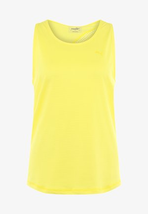 RACERBACK TANK - Sports shirt - blazing yellow