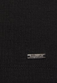 TOM TAILOR DENIM - STRUCTURED DRESS - Cocktail dress / Party dress - deep black - 2
