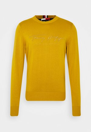 TONAL AUTOGRAPH - Jumper - yellow