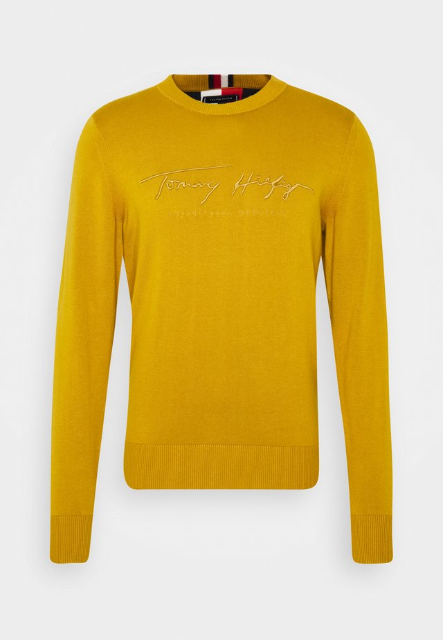 TONAL AUTOGRAPH - Pullover - yellow
