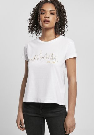 DAMEN LADIES  - T-shirt print - white