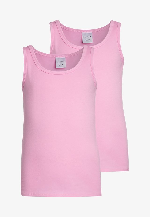 2 PACK - Camiseta interior - rosa