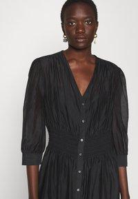 KARL LAGERFELD - DRESS SMOCKING WAIST - Day dress - black - 3