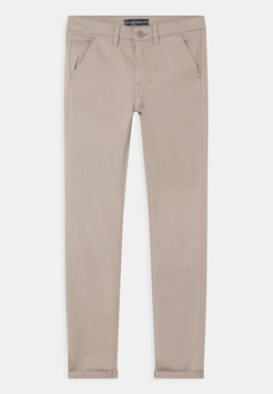 CORE JUNIOR - Chinos - stone white