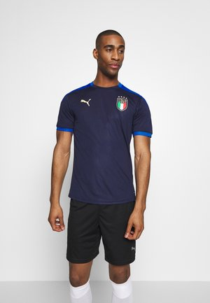ITALIEN FIGC TRAINING SHIRT - Landslagströjor - peacoat/team power blue