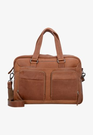 Briefcase - cognac