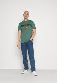 Diesel - T-DIEGOS-K35 T-SHIRT - Print T-shirt - turquoise - 1