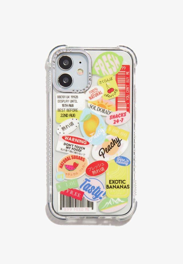 FRUIT STICKER SHOCK CASE IPHONE X/XS / 11 PRO - Phone case - multi-coloured