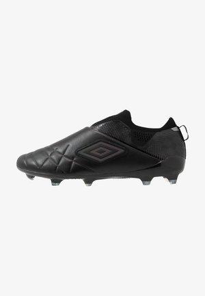 MEDUSÆ III ELITE FG - Moulded stud football boots - black/black reflective