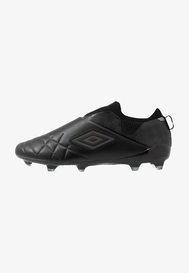 MEDUSÆ III ELITE FG - Moulded stud football boots - black/black reflective