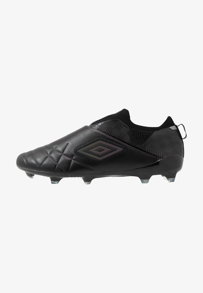 Umbro - MEDUSÆ III ELITE FG - Moulded stud football boots - black/black reflective