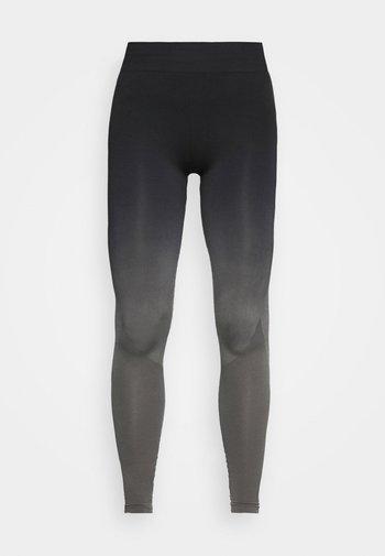 Punčochy - black/grey