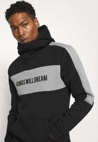 Kings Will Dream - CHAPMAN HOODIE - Sweatshirt - black/grey - 3
