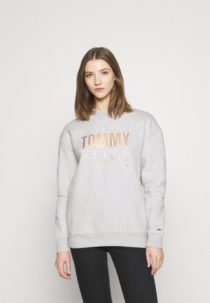 Sweatshirt - silver grey heather