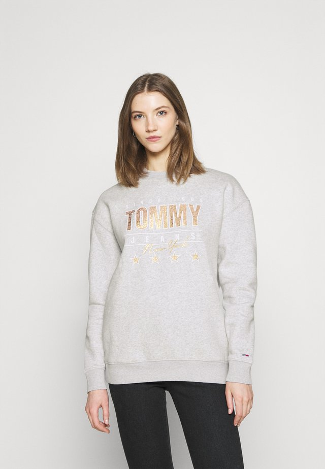 Sweatshirt - silver grey heather
