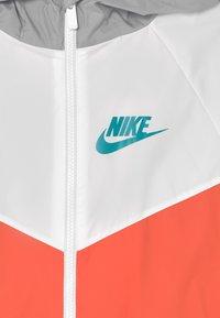 Nike Sportswear - Training jacket - turf orange/white/wolf grey - 2
