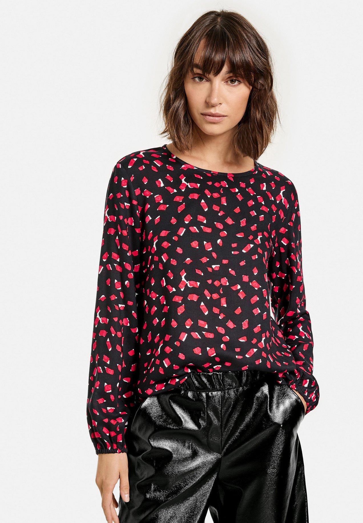 Femme MIT ALLOVER-PRINT - T-shirt à manches longues