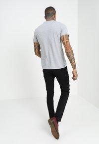 G-Star - GRAPHIC 10 R T S\S - Camiseta estampada - grey heather - 2