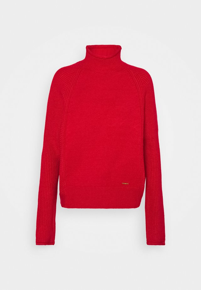 Strickpullover - red bright