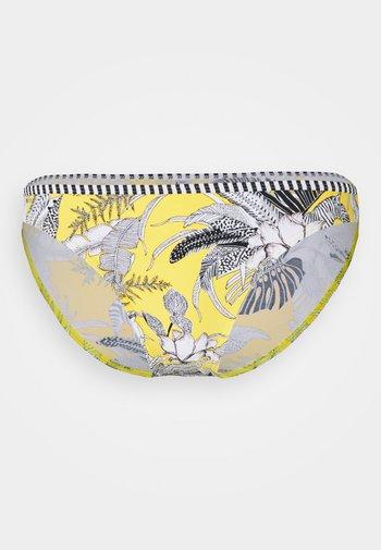 TULUM BEACH MINI BRIEF - Bikini bottoms - yellow