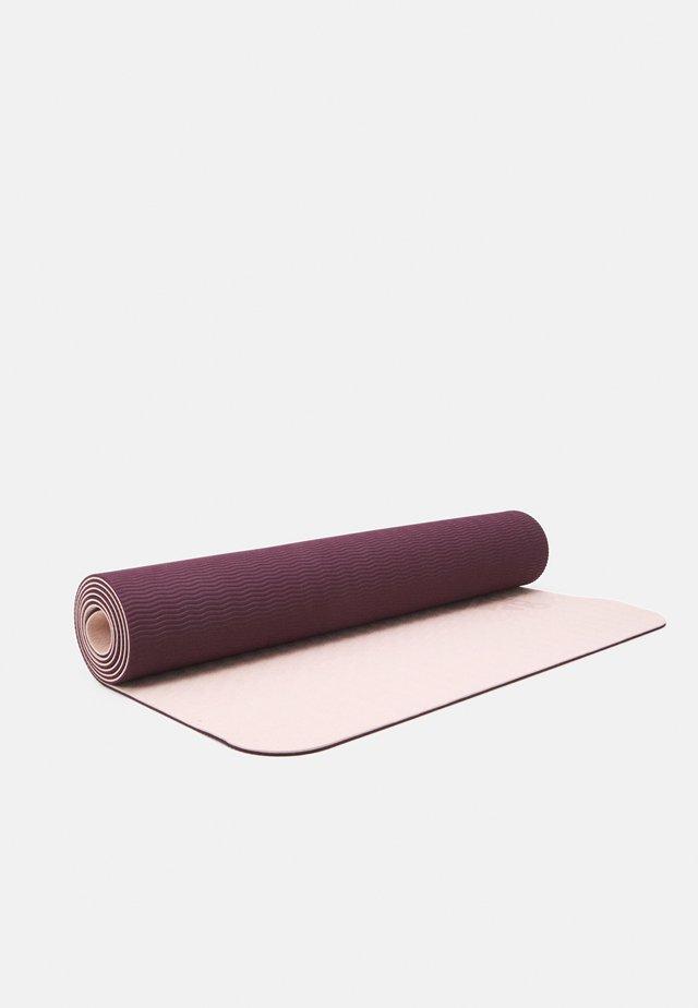 ASMC YOGA MAT - Fitness / yoga - pearl rose/maroon