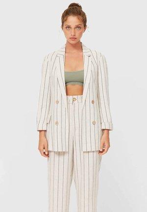 RUSTIKALER - Short coat - mottled beige