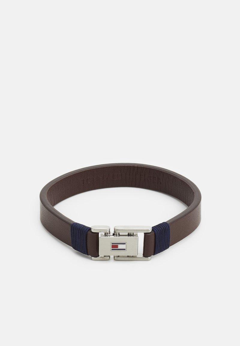 Tommy Hilfiger - CASUAL - Bracelet - brown/silver