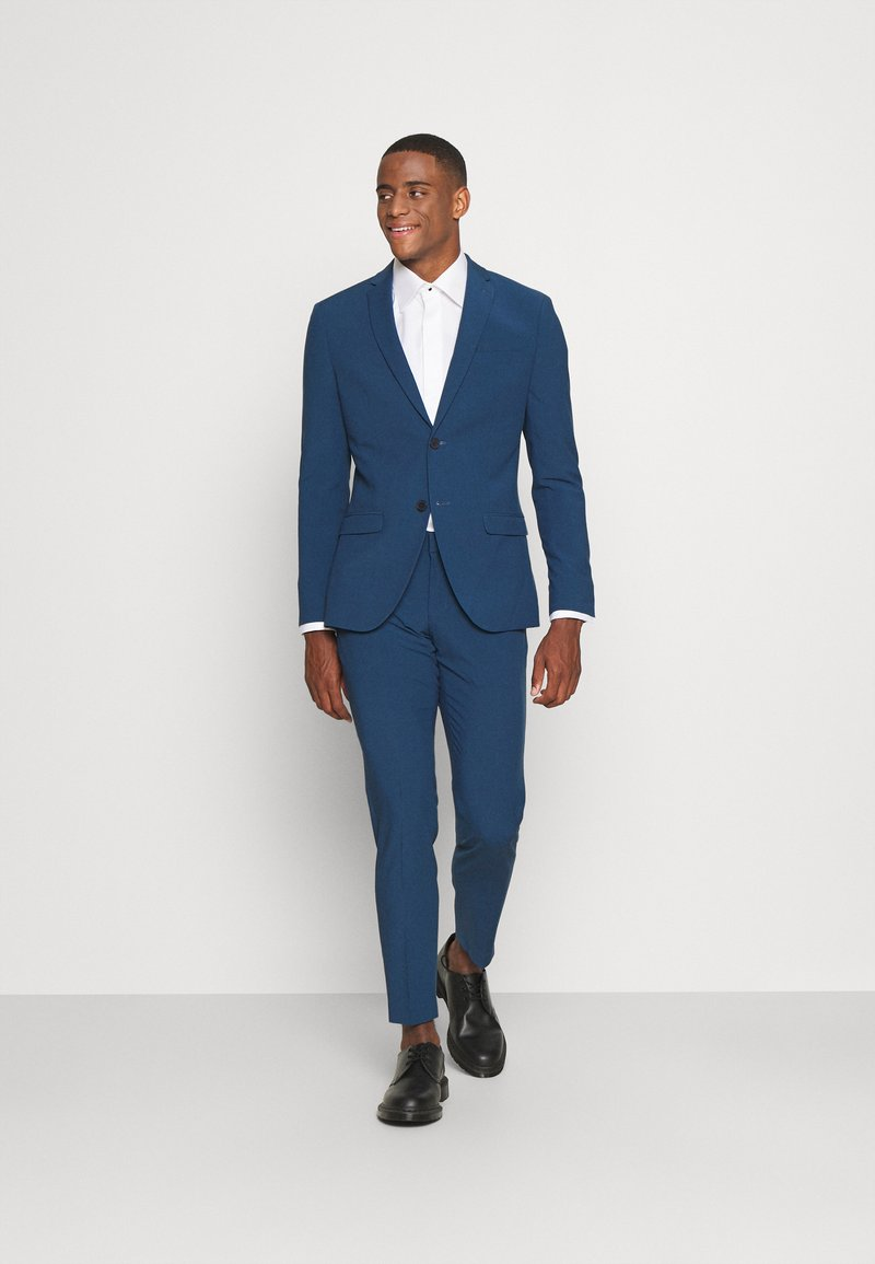Isaac Dewhirst - THE FASHION SUIT NOTCH - Kostym - blue