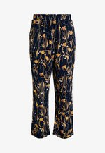 VIALETA PANTS - Pantalones - navy blazer/golden