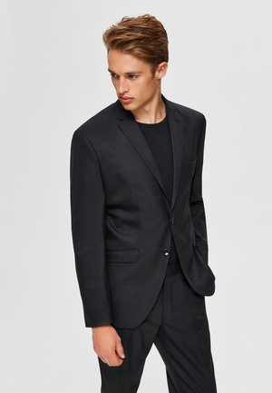 SLIM FIT - Veste de costume - black