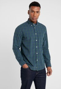 Marc O'Polo - BUITTON DOWN ONE POCKET STITCHED GENUINE PLACKET REGULAR FIT - Shirt - combo - 0