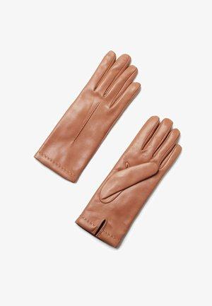 Gloves - braun natural camel