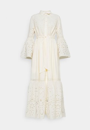 YASBOHIMA ANKLE DRESS - Shirt dress - ivory