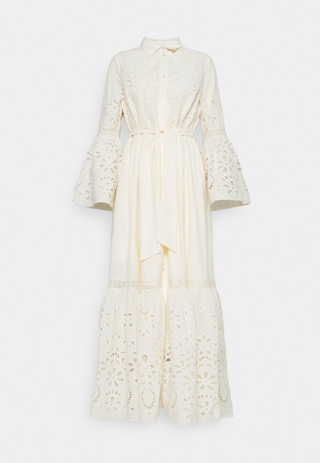 YASBOHIMA ANKLE DRESS - Blousejurk - ivory