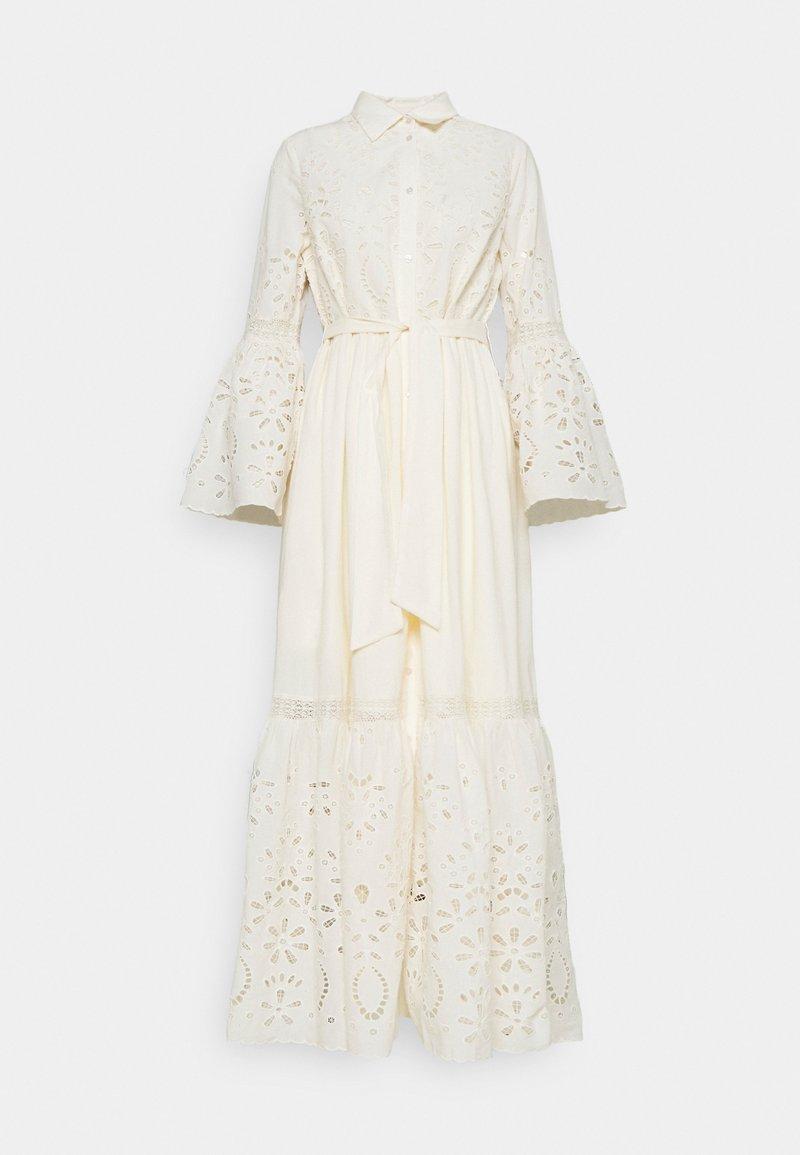 YAS - YASBOHIMA ANKLE DRESS - Shirt dress - ivory