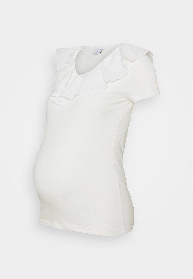 MLRIA MIX - Basic T-shirt - snow white
