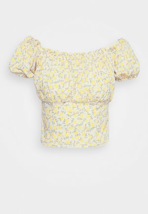 LEMON BARDOT - Blouse - yellow