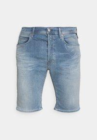 Replay - HYPERFLEX - Denim shorts - medium blue - 3