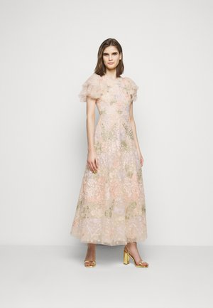 ELIN BLOSSOM ANKLE GOWN - Iltapuku - champagne