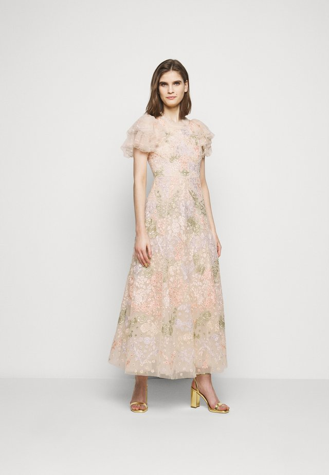 ELIN BLOSSOM ANKLE GOWN - Suknia balowa - champagne