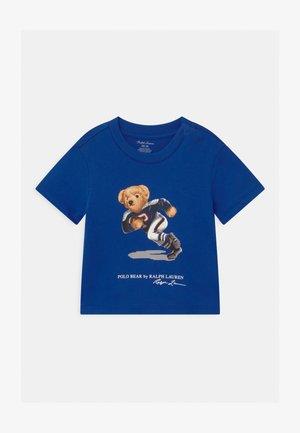 Print T-shirt - sistine blue