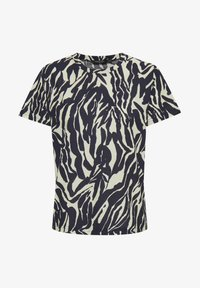 Soaked in Luxury - SLSALLIE  - Print T-shirt - zebra strokes blue - 5