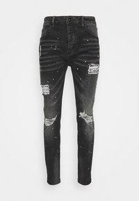 Kings Will Dream - INWOOD CARROT - Jeans slim fit - jet black - 5