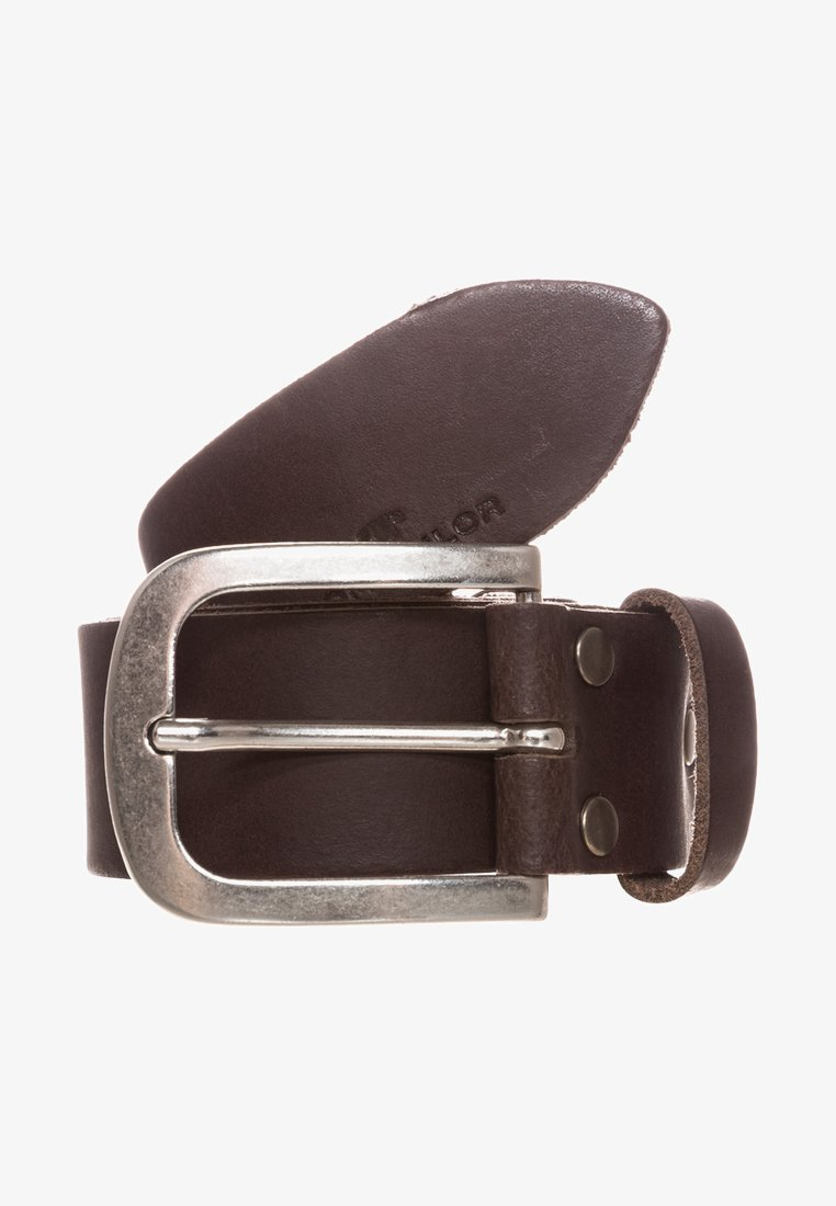 TOM TAILOR - Belt - dunkelbraun