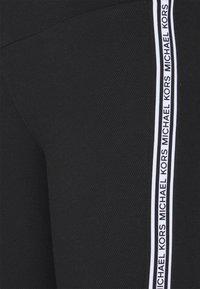 MICHAEL Michael Kors - STRIPE TAPE - Leggings - Trousers - black - 2