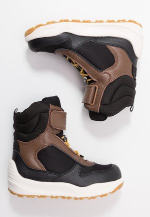 MALIK MIDCUT WATERPROOF - Winter boots - brown/grey