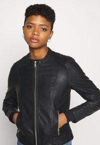 b.young - ACOM JACKET - Faux leather jacket - black - 3
